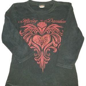 SM Harley Davidson Womens shirt size San Benito HD